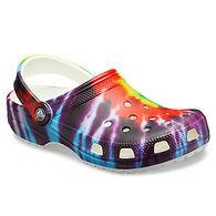 Crocs Women's Classic Tie-Dye Graphic Clog