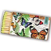 Michel Design Works Butterflies Matchbox