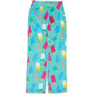 Candy Pink Girls' Popsicle Fleece Pajama Pant