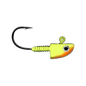 Lunker City Lunkergrip Painted Fin-S Jig Head - 3 Pk.