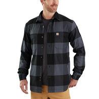 Carhartt Men's Rugged Flex Hamilton Fleece-Lined Shirt Jac