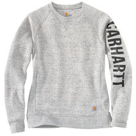 Carhartt Women's Relaxed Fit Midweight Crewneck Graphic Sweatshirt