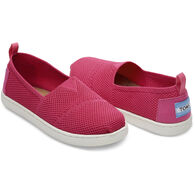 TOMS Girl's Mesh Knit Alpargata Slip-On Shoe