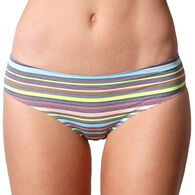 Coobie Women's Super Stretch Smooth Edge Bikini Pantie - Full Size