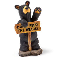 Big Sky Carvers Don't Feed The Bears Mini Figurine