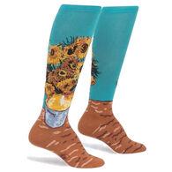 Sock It To Me Women's Sunflowers Knee High Sock