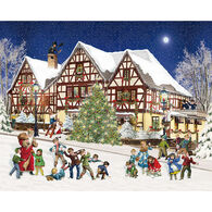 White Mountain Jigsaw Puzzle - Snowball Fight