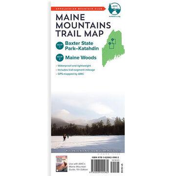 AMC Maine Mountains Trail Maps 1-2: Baxter State Park-Katahdin and Maine Woods