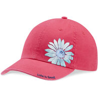 Life is Good Girls' Print Pattern Flower Chill Cap