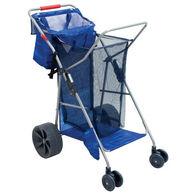 RIO Brands Deluxe Wonder Wheeler Beach Cart