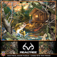 Leanin' Tree Jigsaw Puzzle - Realtree: The One That Got Away