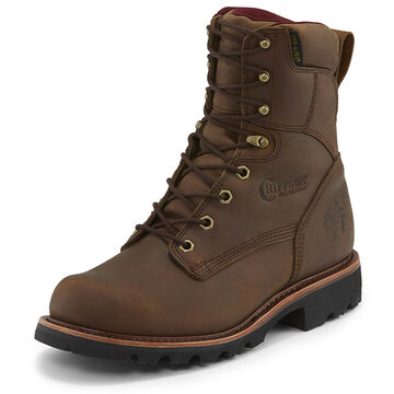 Chippewa Mens Limited Edition 8 Crazy Horse Leather Super Logger Insulated Steel Toe Work Boot