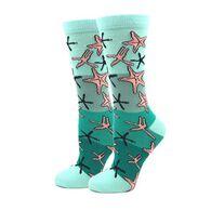 Sock Harbor / Ocean Beach Women's Starfish Crew Sock