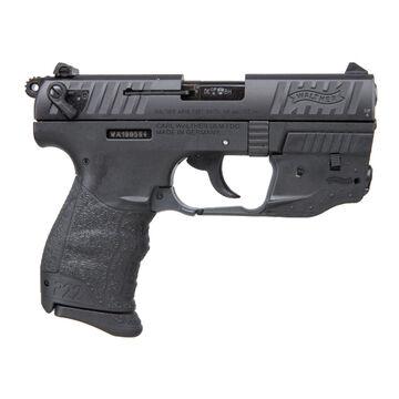 Walther P22 QD Black 22 LR 3.42 10-Round Pistol w/ Laser