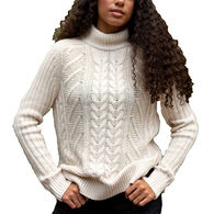 United By Blue Women's Recycled Cotton Fisherman Sweater