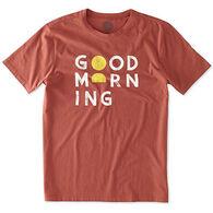 Life is Good Men's Good Morning Block Sleep T-Shirt