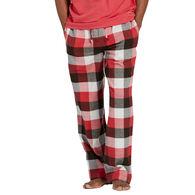 Life is Good Men's Sleepy Red Plaid Classic Sleep Pant