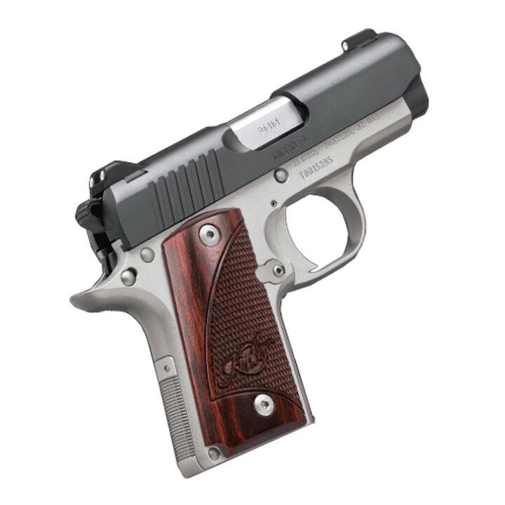 "Kimber 1911 Micro Pistols: Kimber Micro 9 Two-Tone 9mm 3.15"" 7-Round Pistol"