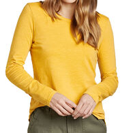 Toad&Co Women's Primo Crew Neck Long-Sleeve Shirt
