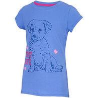 Carhartt Girls' Puppy Love Short-Sleeve T-Shirt