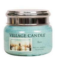 Village Candle Small Glass Jar Candle - Rain
