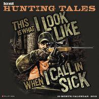 Willow Creek Press Buck Wear's Hunting Tales 2018 Wall Calendar