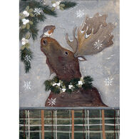 LPG Greetings Christmas Moose Holiday Boxed Christmas Cards