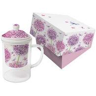 Paperproducts Design Aquerell Dandelion Glass Tea Mug Set