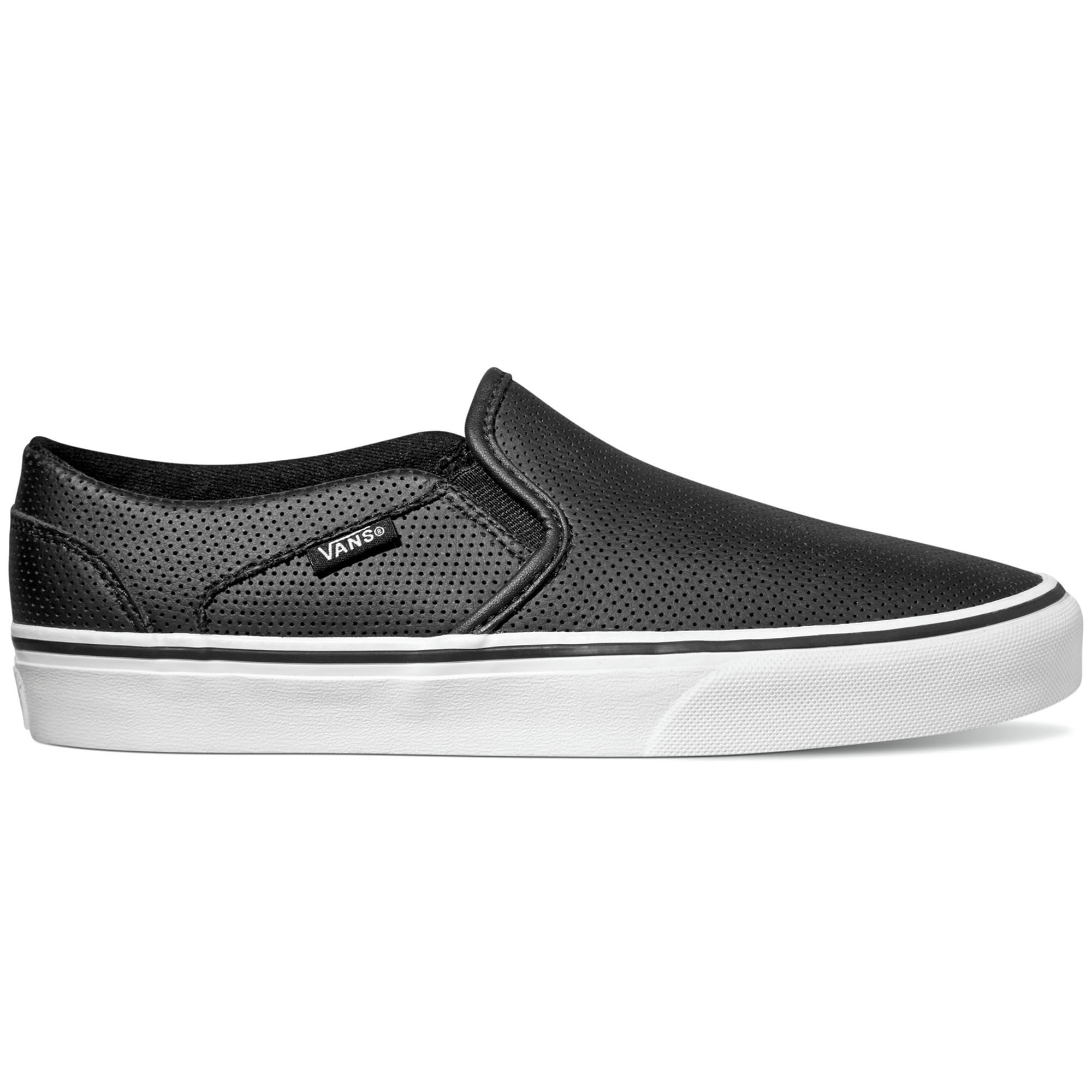 VANS SLIP ON PERF LEATHER SHOES YouTube