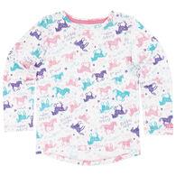 Carhartt Infant/Toddler Girls' Run Wild and Free Short-Sleeve T-Shirt