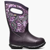 Bogs Girls' York Super Flower Boot