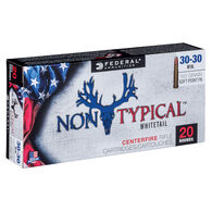 Federal Non-Typical 30-30 Winchester 150 Grain Soft Point FN Rifle Ammo (20)