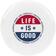 Life is Good Superpower Flag Ultimate Disc