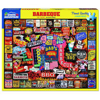 White Mountain Jigsaw Puzzle - Barbeque