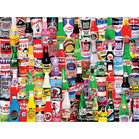 White Mountain Jigsaw Puzzle - Soda Pop