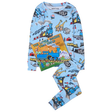 Books to Bed The Little Engine That Could Pajama & Book Set