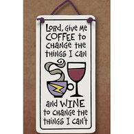 "Spooner Creek ""Lord Give Me Coffee"" Mini Charmer Tile"