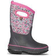 Bogs Girls' Classic Freckle Flower Insulated Winter Boot