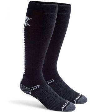 Fox River Mills Womens Chamonix Lightweight Over-The-Calf Ski Sock