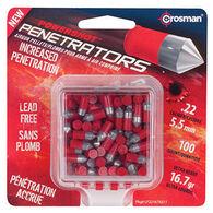 Crosman Red Flight Penetrator 22 Cal. 16.7 Grain Lead-Free Air Gun Pellet (100)