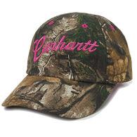 Carhartt Girl's Realtree Xtra Duck Cap