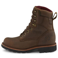 """Chippewa Men's Limited Edition 8"""" Crazy Horse Leather Super Logger Insulated Steel Toe Work Boot"""