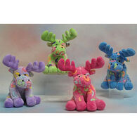 Wishpets Stuffed Chenille Swirl Maine Moose - Assorted