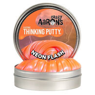 Crazy Aaron's Mini Neon Flash Electric Thinking Putty - 0.47 oz.