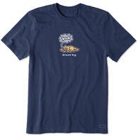 Life is Good Men's Dream Big Rocket Crusher Short-Sleeve T-Shirt