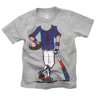 Wes And Willy Boy's Baseball Player Short-Sleeve T-Shirt