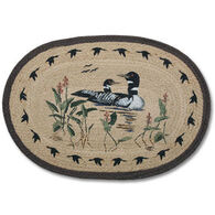 Capitol Earth Oval Braided Loon Rug