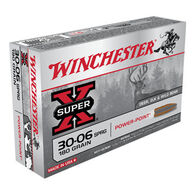Winchester Super-X 30-06 Springfield 180 Grain Power-Point Rifle Ammo (20)