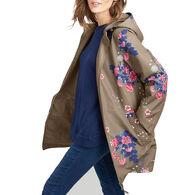 Joules Women's Dockland Reversible Raincoat
