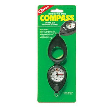 Coghlans Compass w/ LED Illuminated Dial